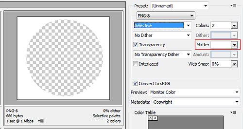 Размещаем круглые изображения на веб